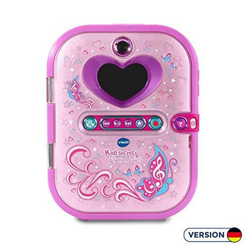 Vtech 163603 Kidi Secrets Selfie Musik, Mehrfarbig, 2.9 x 14.1 x 18.4 cm