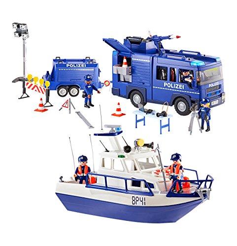 Playmobil 9400 Bundespolizei - Großeinsatz .