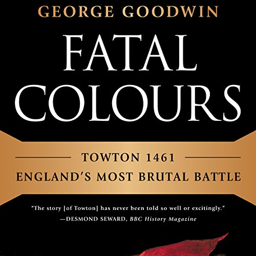Fatal Colours audiobook cover art