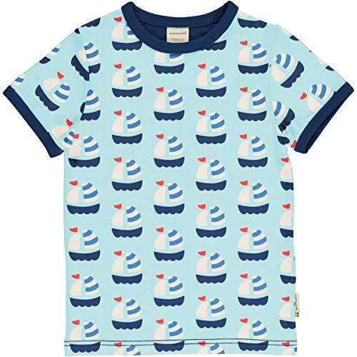 Maxomorra T-Shirt Kurzarm Sailboat 98/104