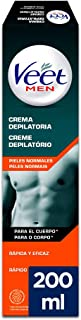 Veet for Men Crema Depilatoria para hombre - Piel normal 200ml