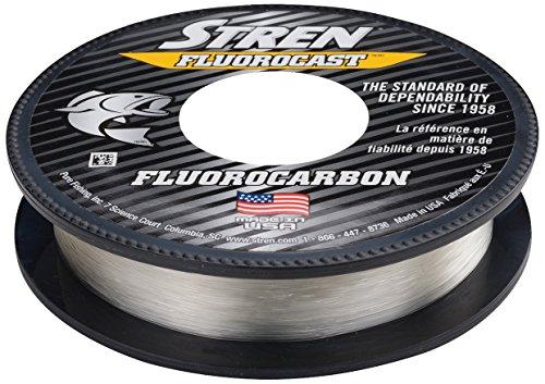 Stren Fluorocast - Hilo de Pesca de fluorocarbono, SFCTFS10-15, Transparente, 200-Yard/10-Pound