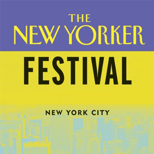 The New Yorker Festival audiobook cover art