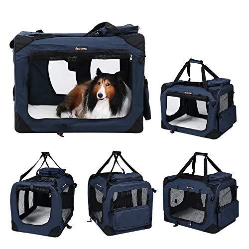 FEANDREA Folding Pet Travel Cage
