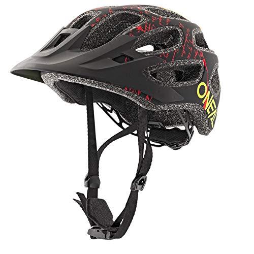 O'NEAL Thunderball 2.0 Fusion All Mountain MTB Fahrrad Helm schwarz/rot 2019 Oneal: Größe: M/XL (57-61cm)