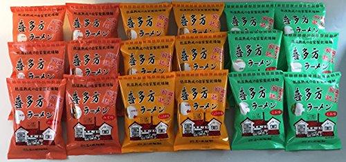 【五十嵐製麺】喜多方自家製乾燥ラーメン18食入(醤油6、味噌6、しお6)