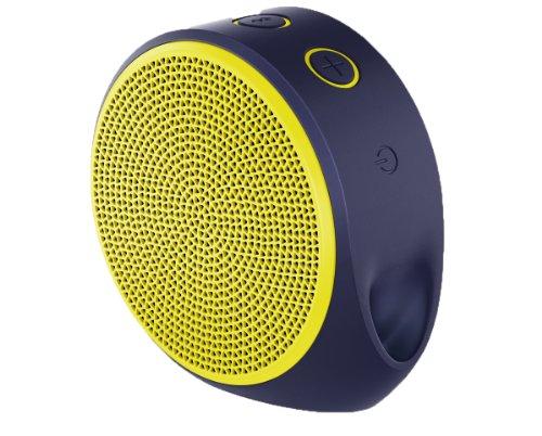 Logitech X100 Mobile Lautsprecher (Bluetooth, micro-USB Ladekabel) gelb