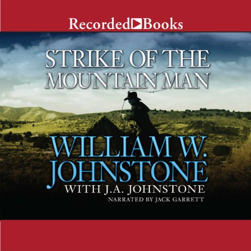 Strike of the Mountain Man audiobook cover art