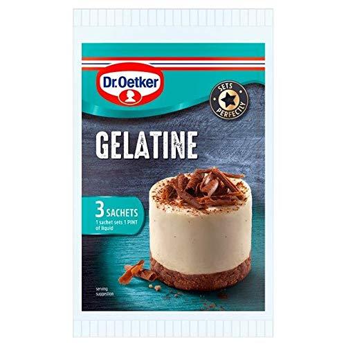 Dr Oetker Gelatine Sachet Multipack 3 x 12g