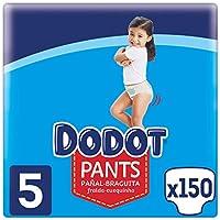 Dodot Pants Pañal - Braguita Talla 5, 150 Pañales, 12 kg - 17 kg, Pañal - Braguita Con Ajuste 360° Anti - fugas