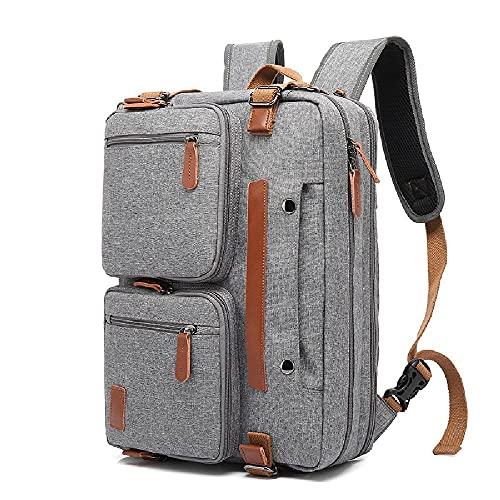GJHYJK Zaino per Laptop Zaino Multiuso per Studenti e Ragazze Zaino Portatile a Tracolla Borsa da Viaggio all'aperto Daypack,Grey-40cm