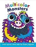 Multicolor Monsters: Finger Puppet Board Book