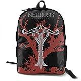 ZYWL Neurosis Sovereign Casual Canvas Backpack Borsa da viaggio per scuola Borsa per laptop