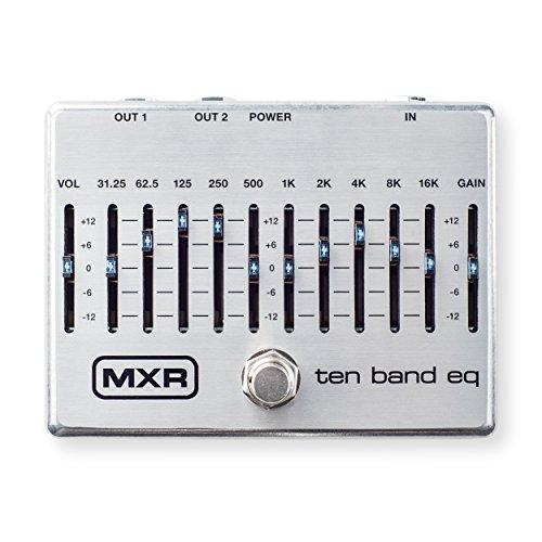 MXR M108S Ten Band EQ Guitar Effects Pedal