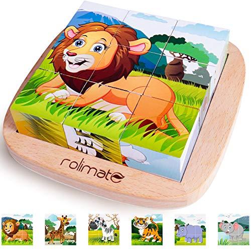 Rolimate Bilderwürfel Holzspielzeug