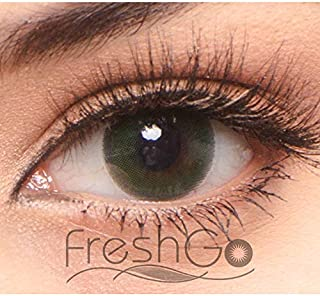 OEM ODM Natural Look Color Contact Lenses Yearly Circle Eye Contact Lenses With Case