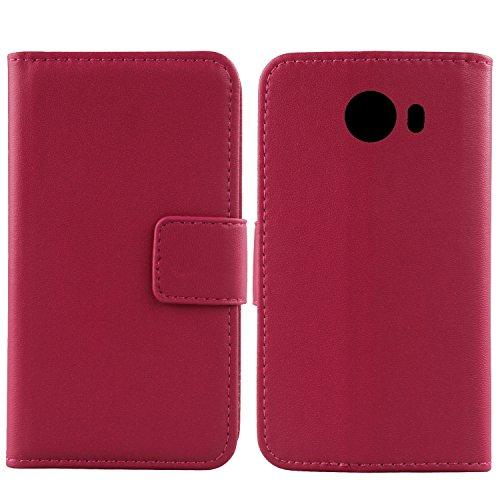 Gukas Design Echt Leder Tasche Für Alcatel A30 Plus 5.5