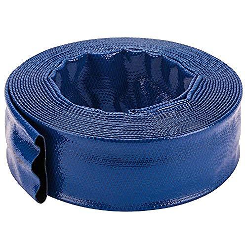Draper 80719–Manguera de Plano 10m x 50mm, Color Azul