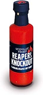 Scovilla´s Finest REAPER´S KNOCKOUT 100ml | Extrem scharfe Chilisauce mit Carolina Reaper | Extreme Hot Sauce | 100% natürliche Zutaten