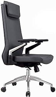 LILIS Silla de Oficina Silla de oficina con respaldo alto Silla de oficina Escritorio Negro silla de la computadora Silla acolchada Ejecutivo Silla de la oficina a casa for la silla de trabajo ajustab