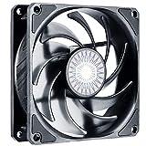 Cooler Master SickleFlow 92 Ventilador de Caja: 92 mm, Aspas Air Balance Mejoradas, 40 CFM, 1.8 mmH2O, 6 a 25 dBA, 4-Pin PWM, Sin LED, Negro