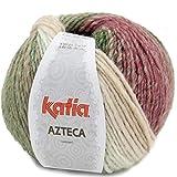 Lanas Katia Azteca Ovillo de Color Chicle Cod. 7875