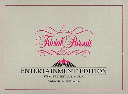 Trivial Pursuit Kartensatz - Entertainment Edition - Film, Freizeit und Musik 3000 Fragen