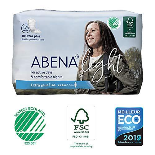 Abena - Protections Anatomiques Light Extra Plus 10 Protections - Lot De 4 - Livraison Rapide En France - Prix Par Lot