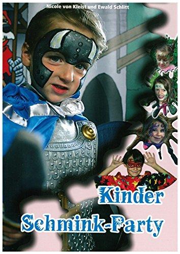Eulenspiegel 999622 Schminkbuch Kinder Schminkparty, tolle Schminkideen für jede Party