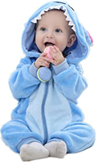 Cute Cartoon Baby Pajama Set Novelty Cotton Baby Rompers boy Girl Animal Rompers Stitch Baby's Sets
