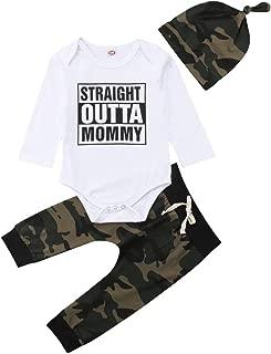straight outta mommy onesie set