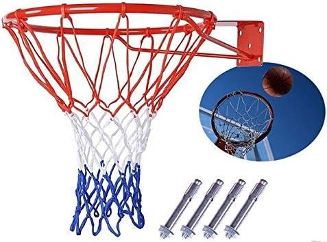 JIUZHOUTONG Basketball Hoop Net Ring Outdoor Wall Hangin Mounted 2021 model Purchase