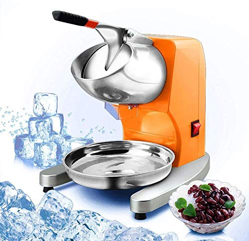 Ice blender Ice Crusher Rust-Proof Safety Switch Easy to Use Hand Crank for Ice Cream Cold Drinks Fruit Dessert Cocktail High-efficiency Crusher Wide Range of Applications best gift