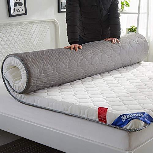 FF Dicke Matratze Topper, Faltbare Tatami Bodenmatte Queen-King Schlafsaal Isomatte japanische traditionelle Futo Bodenmatratze Pad-c1 90x190cm (35x75inch)