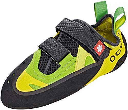 Ocun OXI QC Gelb-Grün, Kletterschuh, Größe EU 38.5 - Farbe Green - Yellow