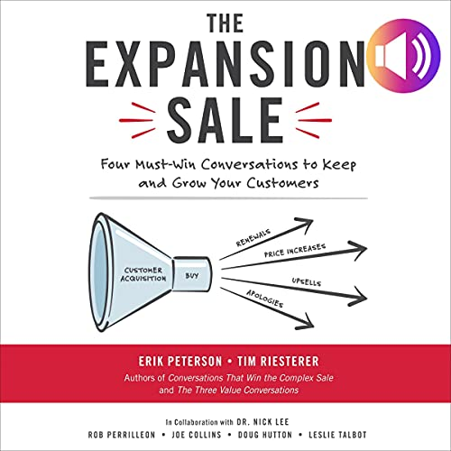 The Expansion Sale Audiobook By Erik Peterson, Tim Riesterer cover art