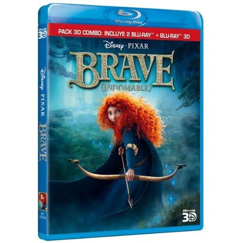 Brave (3D Combo) [Blu-ray]: Amazon.es: Animación, Mark Andrews ...