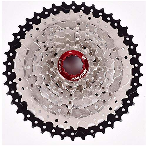 ZTZ 8 Speed Cassette MTB Cassette 11-42T 8 Speed Fit for Mountain Bike, Road Bicycle, MTB, BMX, SRAM Shimano Sunrace