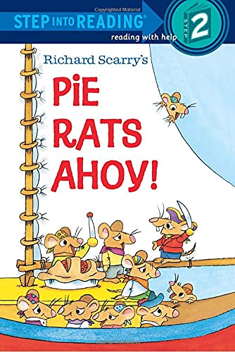 Richard Scarry's Pie Rats Ahoy! (Step into Reading)の詳細を見る