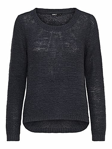 Only onlGEENA XO L/S PULLOVER KNT NOOS, Suéter para Mujer, Azul (Navy Blazer), M