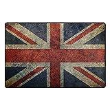 alfombra union jack vintage