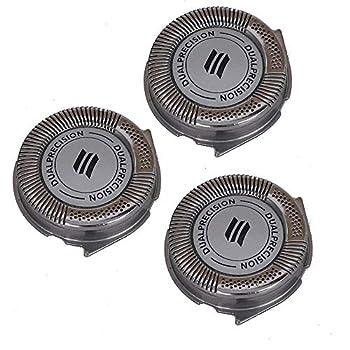 3 Pcs Replacement Shaver Heads Fit Norelco Philips AT814 AT815 AT830 AT875 AT880 AT890