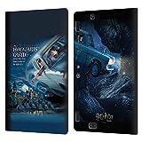 Head Case Designs Licenciado Oficialmente Harry Potter Póster del Coche Volador Chamber of Secrets III Carcasa de Cuero Tipo Libro Compatible con Amazon Kindle Fire HDX 8.9