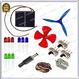 GKA2Z 19 Items in 1 Solar Energy kit-Multi-Purpose Solar Educational kit-Solar Educational Learning Project kit.