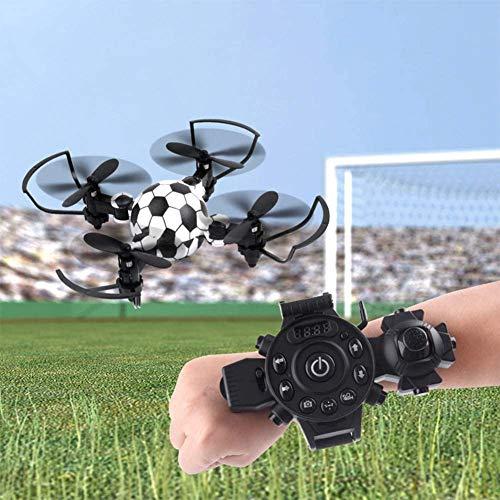 Turtle Story Juguetes Mini plegable fútbol forma control remoto Quadcopter con 4 ejes niños juguete JXNB