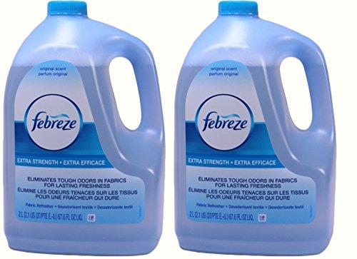 Febreze Extra Strength Original Scent Refill, 67.6 Ounce, (Pack of 2)