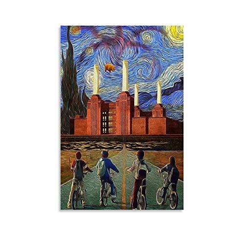 JNFB Art Pink Floyd Albums (3) - Pósteres artísticos para pared (20 x 30 cm)
