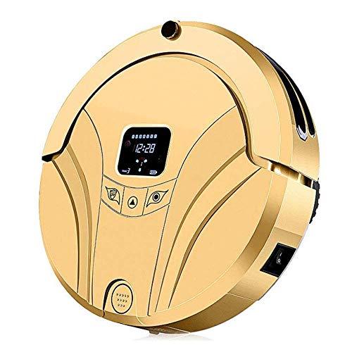 Robot de Barrido, Carga Inteligente del hogar, Barrido, succión y trapeador, Tres en uno, Barrido automático, trapeador y aspiración (Color: Dorado) (Color: Golden) Kshu (Color: Golden) WTZ012