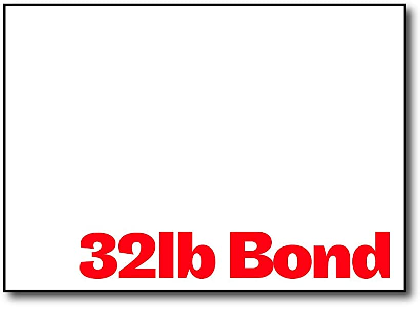 Premium Weight 32lb Bond White 5