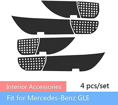 Phoenix Mall LUVCARPB 4 pcs Auto Car Door Anti Dust Pa Proof Max 48% OFF Kick Accessories